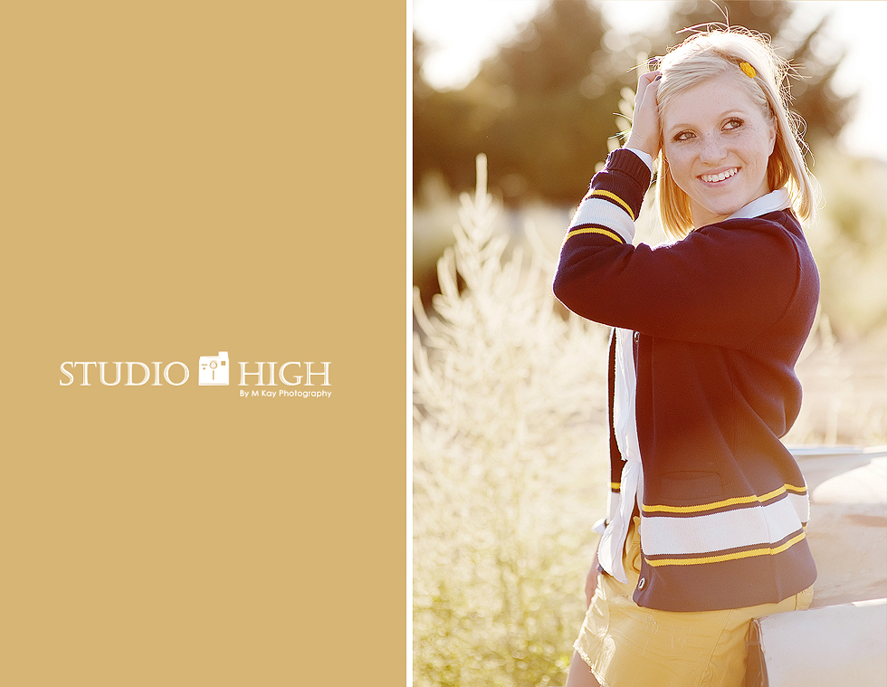 meridian idaho high school senior portraits