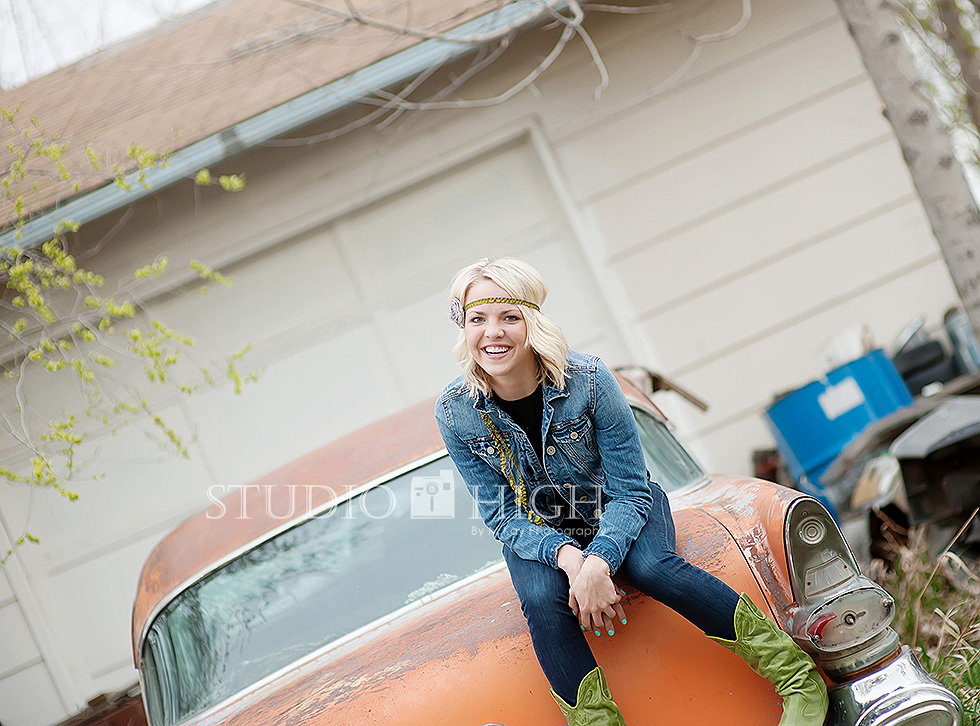 boise idaho senior portraits