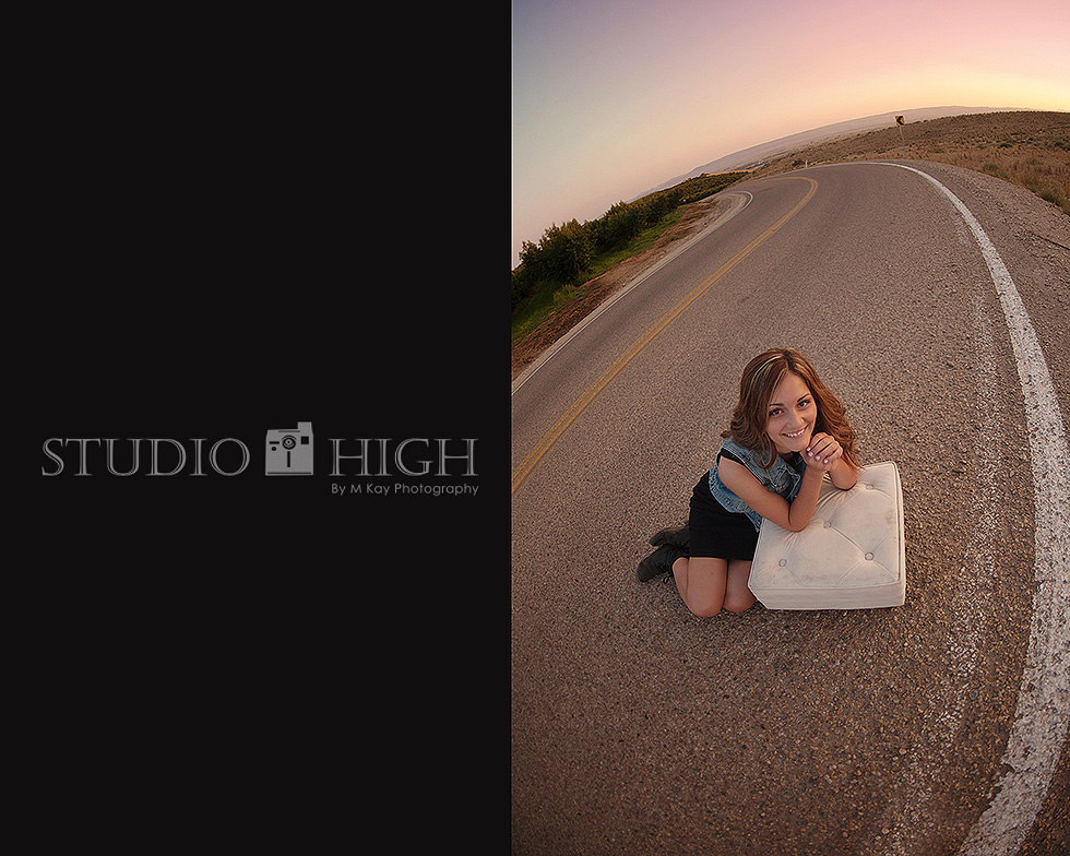 fisheye photography senior photographer nampa idaho